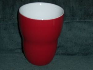 Starbucks By Aida Red Double Walled Insulated Mug 8oz 2008 Excellent