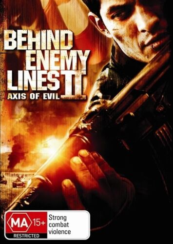 1 of 1 - Behind Enemy Lines 2 - Axis Of Evil-DVD LIKE NEW FREE POST ALL OF AUS REGION 4