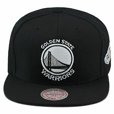 item 2 Mitchell   Ness Golden State Warriors Snapback Hat All Black White 2015  Finals -Mitchell   Ness Golden State Warriors Snapback Hat All ... d229455010c