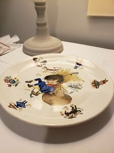 Image Is Loading Vintage Foley James Kent E Nursery Rhymes Plate