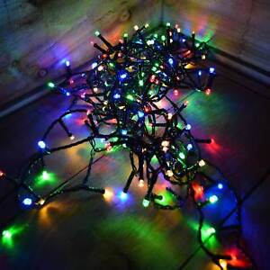 Details About 240 Led Battery Operated Multi Function Outdoor Timer Lights In Coloured