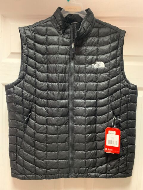 The North Face Mens Active Fit M Thermoball Vest Tnf Black X Large Xl Jacket