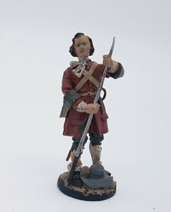 FRANKLIN MINT Private Tangier Regiment 1680's 60mm Military Figure Soldier
