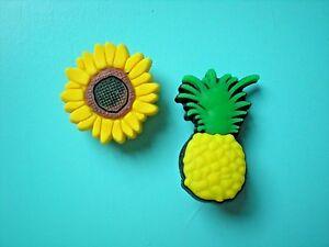 Shoe Charm Button Plug Compatible W// Crocs Shoes Rabbit Sun Flowe For Wristband
