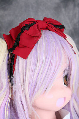 L-215 Gothic LOLITA Rot red Spitze Haarreif Schreife Harajuku cosplay japan