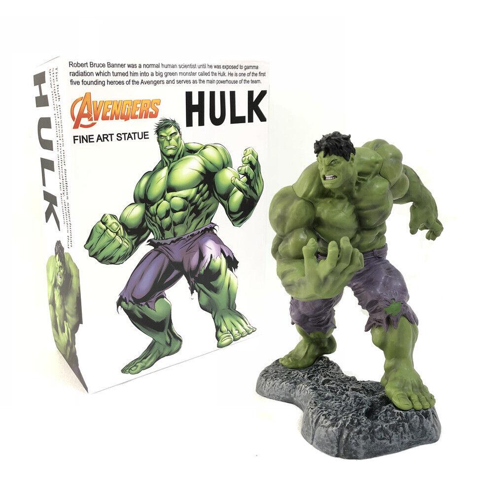 Crazy Jouets Marvel Avengers 1 6 Scale 12  Hulk Fine Art Statue Figure Modèle Jouets