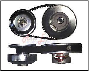 40-Series-Torque-Converter-3-4-034-Driven-1-034-Driver-Clutch-Pulley-Comet-40D-Belt-Set