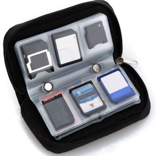Memory Cards Storage Carrying Case Holder Wallet For CF////HC//MS//DS 3DS Game