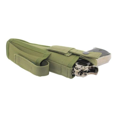 US Stock Tactical Pistol Gun Waist Holsters  with Magazine Slot Holder Mag pouch