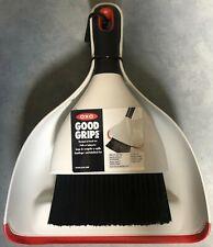Black//White//Red OXO Good Grips Dustpan and Brush Set