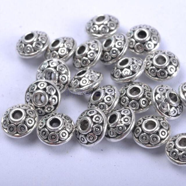 FREE SHIP 30PCS Tibetan Silver Spacer Beads JK0784