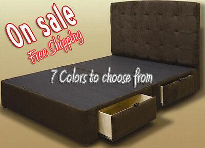 Tiffany 4 Drawer Platform Bed Storage Mattress Box