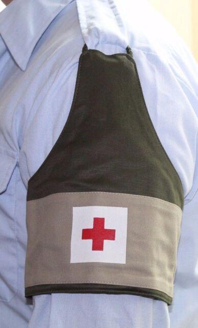 Dutch Nato First Aid Red Cross Armband cuff w elastic band one size each E7440