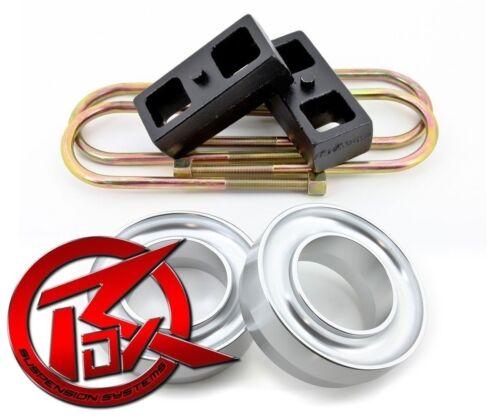 "2/"" Rear Lift Level Kit Fits 94-02 Dodge Ram 1500 2500 3500 2WD Full 3/"" Front"