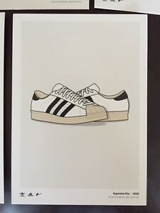 Adidas Ltd Kickposters Carte collection Dan Superstars Freebairn de aywc64t