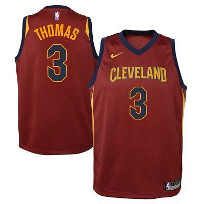 ????% Genuine Isaiah Thomas Cleveland Cavaliers Nike Yth L Swingman Jersey Maroon