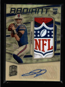 JAKE-FROMM-2020-SPECTRA-RADIANT-MASTERPIECE-NFL-SHIELD-RC-PATCH-AUTO-1-1-FC4832