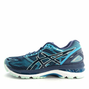 Asics-Gel-Nimbus-19-Neutral-Running-shoe-Blue-Glacier-Sea-T750N-5067-Women-039-s-5