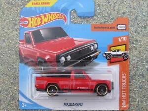 Hot-Wheels-2018-083-365-Mazda-Repu-Rojo-HW-camiones-caliente