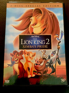 The Lion King 2 Simbas Pride Special Edition Dvd 2004 2 Disc Authentic Us 786936231717 Ebay
