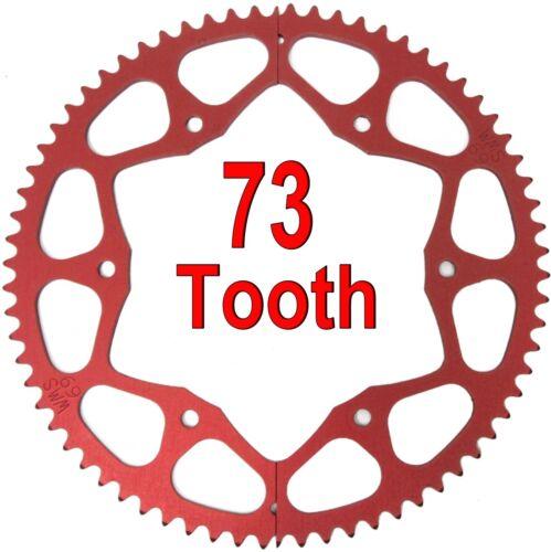 73T Tooth #35 Chain Split Sprocket Two 2 Piece Gear Drift Trike Go Kart Racing