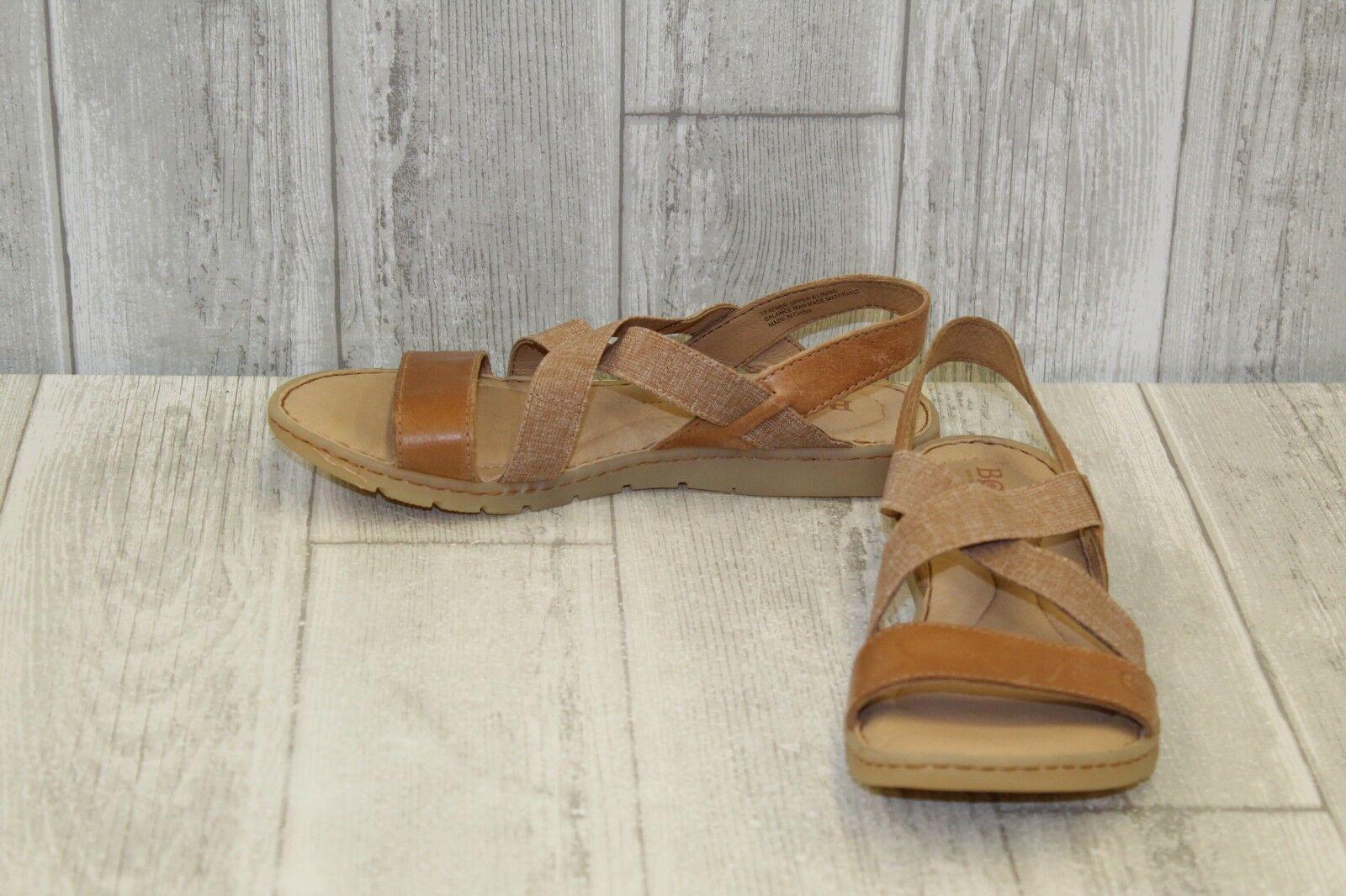 Born Atiana Sandals - Women's Size 6 M - Light Brown