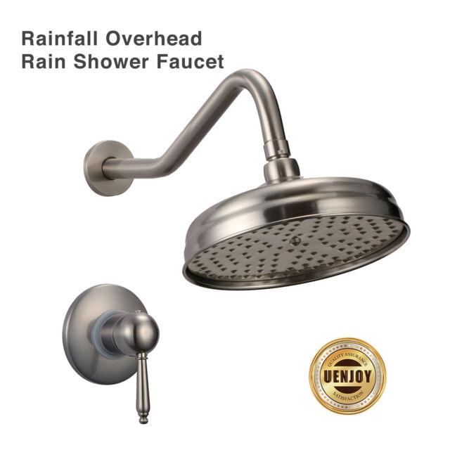 Overhead Rain Shower Faucet Showerhead