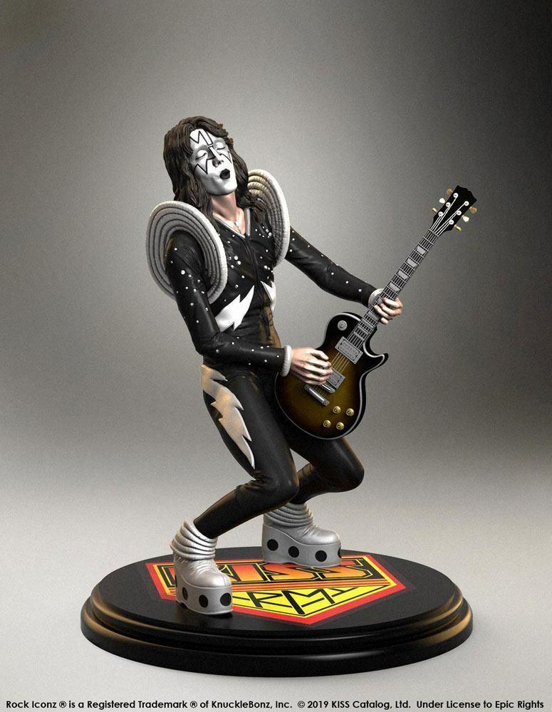 Kiss Rock Iconz Statue 1 9 the Spaceman (Alive 20 cm Knucklebonz
