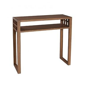 dpi laura console en bois avec 1 tag re longueur 80 cm neuf ebay. Black Bedroom Furniture Sets. Home Design Ideas