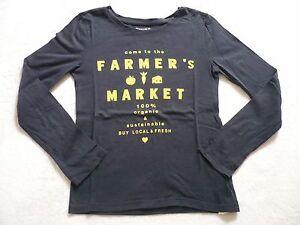 T-shirt-GAP-8-9-ans-manches-longues-fille