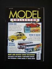Model Collector Magazine - Jul 1997 Issue. RIO, Sutcliffe, Morris, James Bond