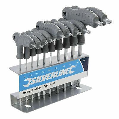 Silverline 328015 Trx Clé THandle Set 10pc T9 T50