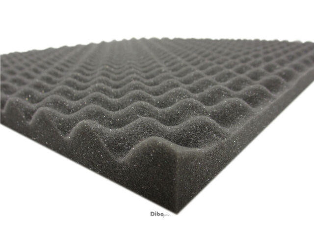 Akustikpur glatt SELBSTKLEBEND 100x50x5cm Raum Akustikschaumstoff Schall Dämmung