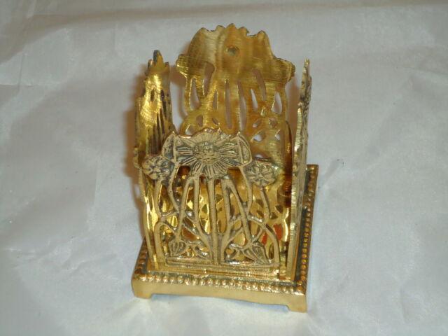 Sunflower Brass Pen Tidy Holder A Very Nice Gift For Desk Office -Rack