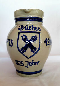 Bembel-Krug-Apfelwein-Appelwoi-Buedingen-Bueches-Hessen-Steinzeug-Westerwaelder