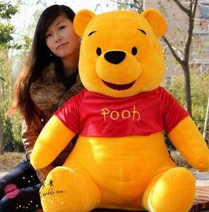 3812abd8f452 Image is loading New-Giant-Plush-Winnie-Pooh-Bear-Doll-Toy-