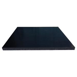 "Black Acetal Plastic Sheet 3//8/"" x 12/"" x 15.9/"" Delrin"