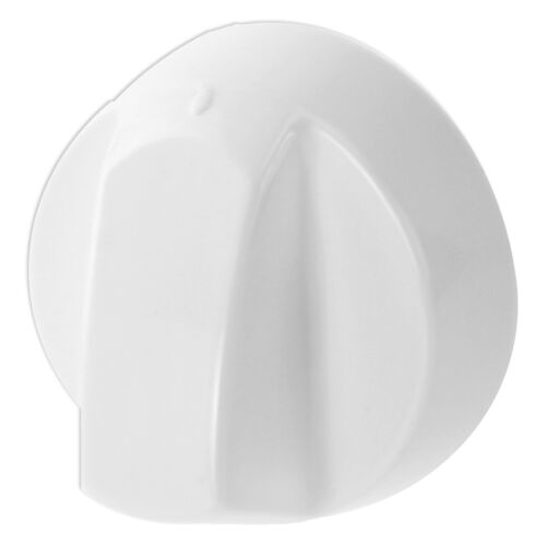 6 X Candy Bianco Forno Cottura Fornello Fiamma Bruciatore Piastra Controllo Interruttore Manopole