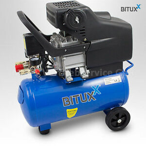bituxx 24l druckluftkompressor kolben kompressor. Black Bedroom Furniture Sets. Home Design Ideas