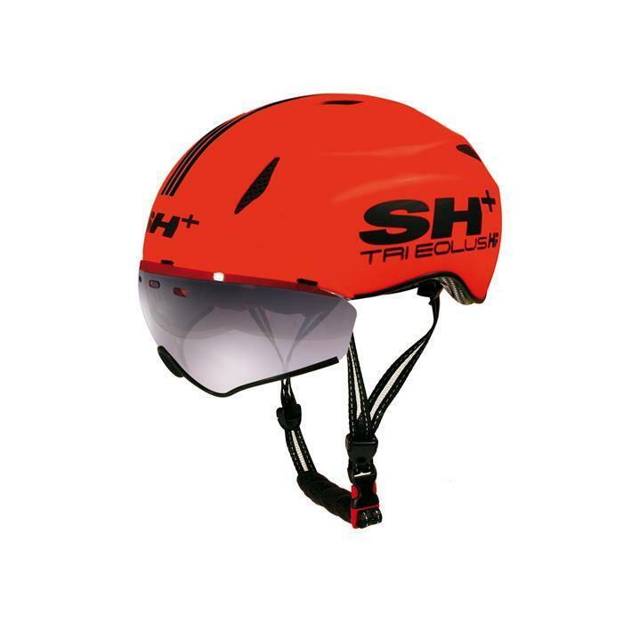 SH + (shplus) Tri Eolus HF Triathlon Cyclisme Casque (a  360) - Orange