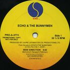 ECHO & the BUNNYMEN New Direction (1987 U.S. Double Side A Promo 12inch)
