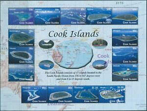 Cook-Islands-2010-SG1594-Islands-aerial-views-MS-MNH
