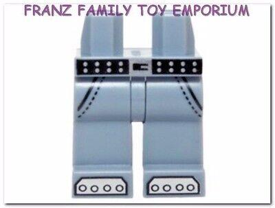 New LEGO Minifig LEGS Dark Brown Black Vest Coattails The Lone Ranger Body Part