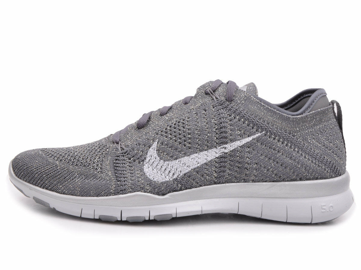 Nike Women's Free TR Flyknit Metallic Shoes Comfortable Wild casual shoes