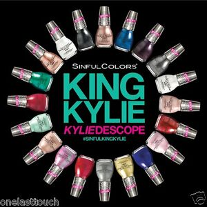 SINFUL-COLORS-1-Nail-Polish-KING-KYLIE-KYLIEDESCOPE-JENNER-2-Step-YOU-CHOOSE