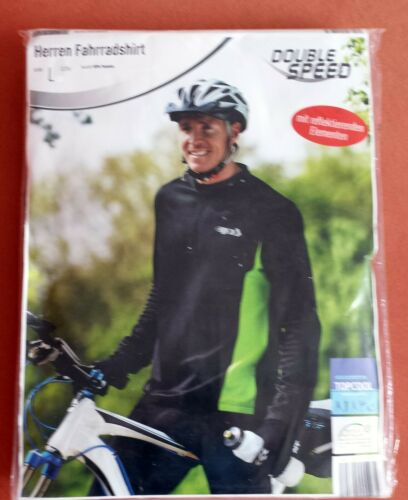Herren Fahrradshirt mit reflektierenden Elementen in 2 Größen