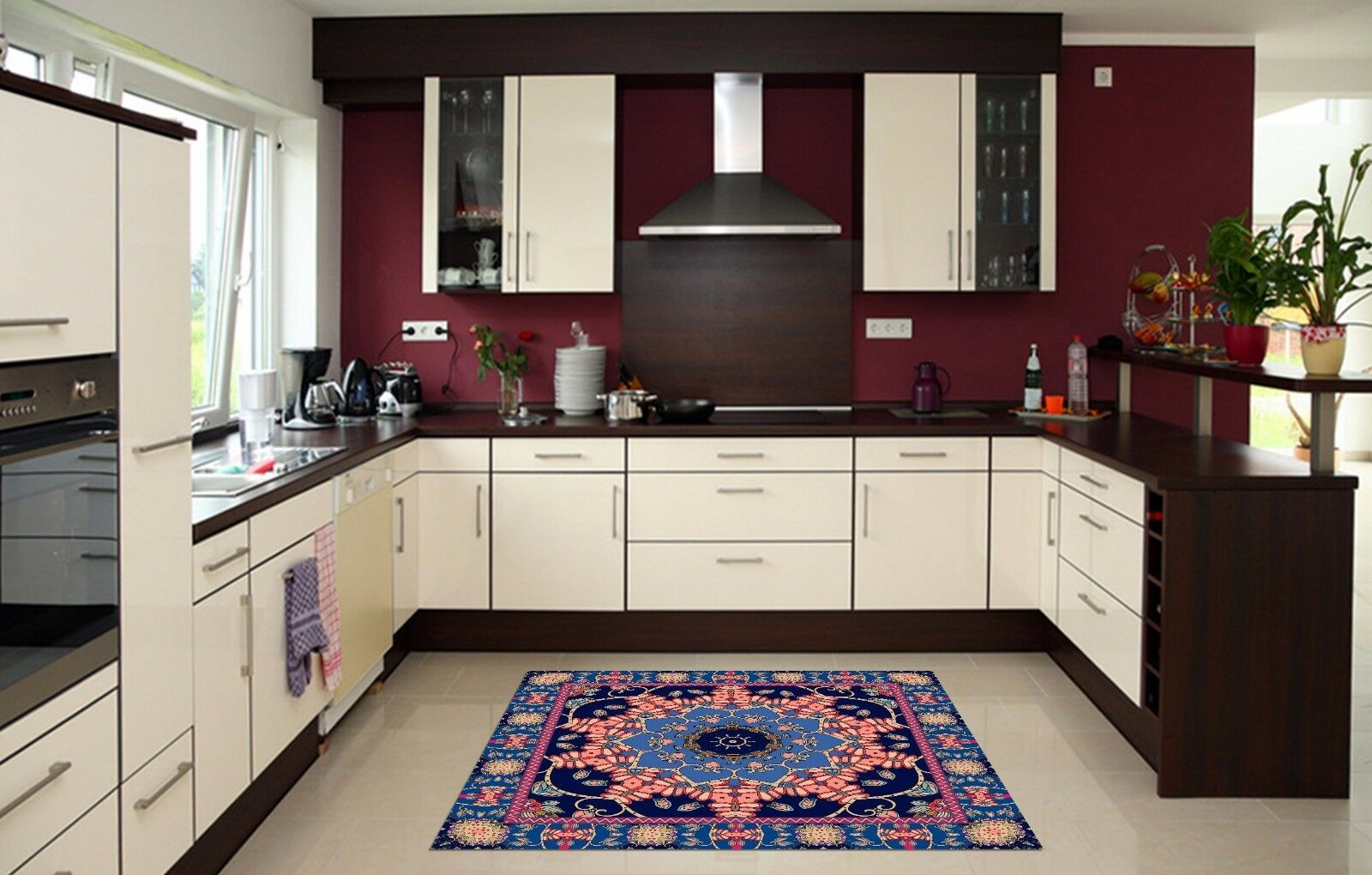 3D Elegant 866  Kitchen Mat Floor Murals Wall Print Wall AJ WALLPAPER AU Carly