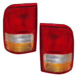 Image Is Loading New Pair Tail Lights Left Amp Right Fits