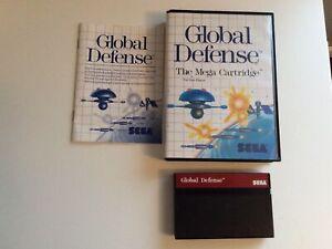 Sega Master System Global Defence