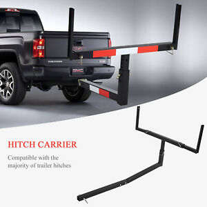 Details About Pick Up Truck Bed Hitch Extender Extension Rack Canoe Boat Kayak Lumber New